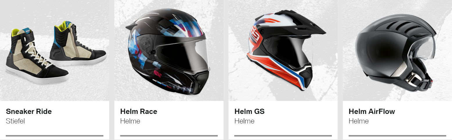 René Frisch AG - BMW Motorrad Bekleidung