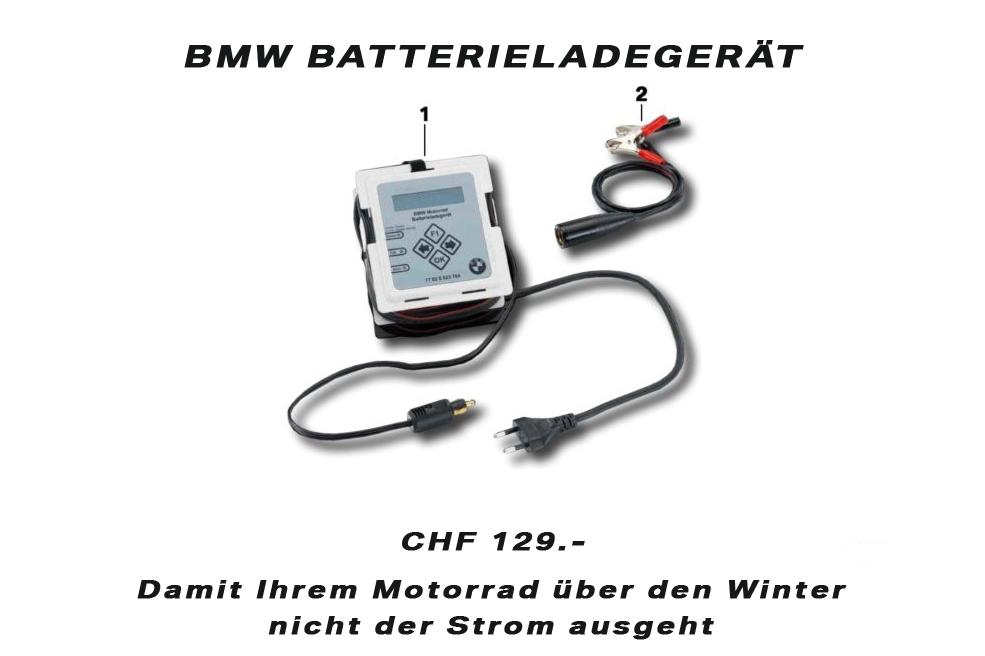 BMW René Frisch AG - BMW Batterie Ladegerät