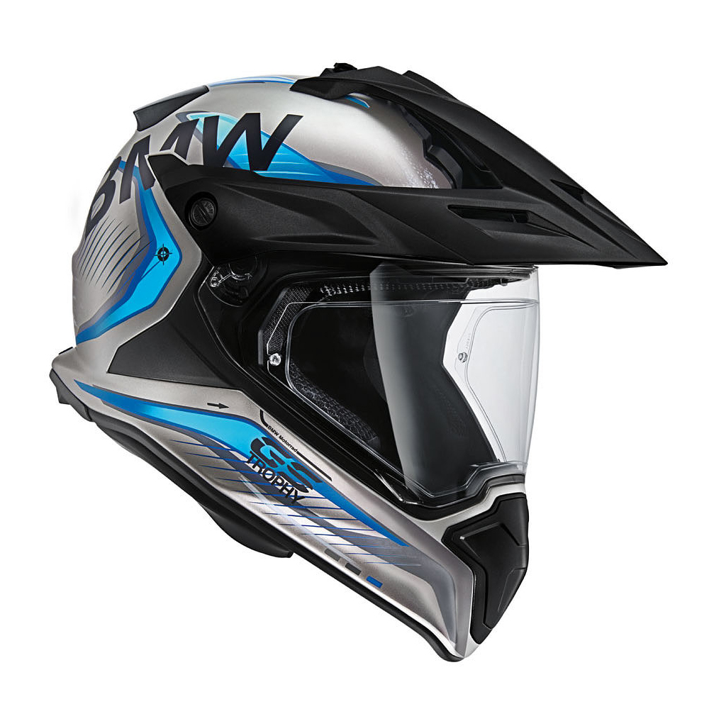 BMW Enduro Helm GS Carbon